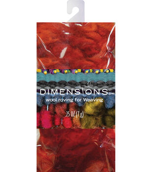 Dimensions Red Curly Roving