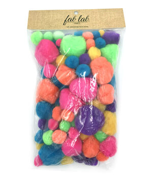 Darice® Big Value Pom Poms-100 pieces