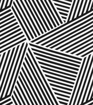 Nate Berkus Home Decor Print Fabric- Ondine Paramount Onyx