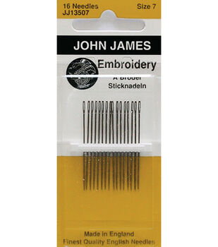 John James Crewel/Embroidery Hand Needles Size 8