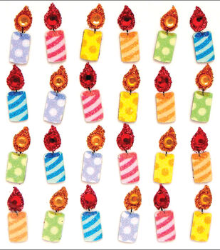 Jolee's Mini Repeats Stickers-Birthday Candles