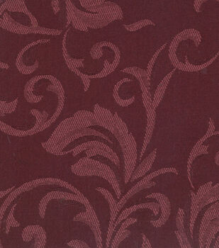 Home Decor Solid Fabric-Signature Series  Jacq Burgundy
