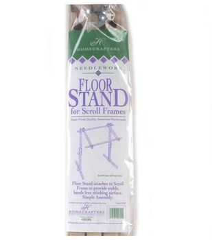 Deluxe Hardwood Scroll Frame FLOOR STAND