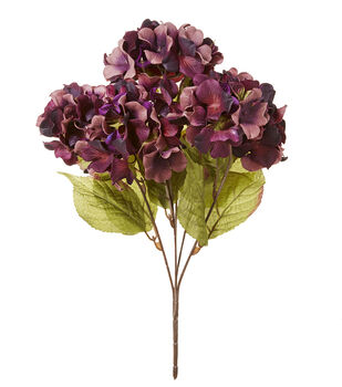 Blooming Autumn 20'' Hydrangea Bush-Purple