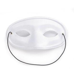 7in Satin Mask-Black