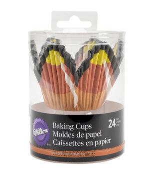 Wilton® Petal Baking Cups-Candy Corn 24/Pkg