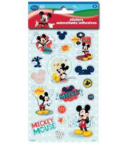 Mickey Sticker Metal, , hi-res
