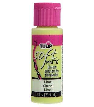 Tulip Soft Matte Fabric Paint-Lime