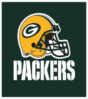 Green Bay Packers NFL Luncheon Napkin, , hi-res