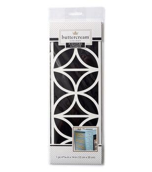 Buttercream™ Stella Collection Medium Furniture Applique-Nouveau Tile