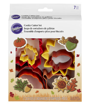 Wilton® Metal Cookie Cutter Set 7pcs-Autumn