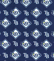 MLB Cotton Fabric-Tampa Bay Rays, , hi-res