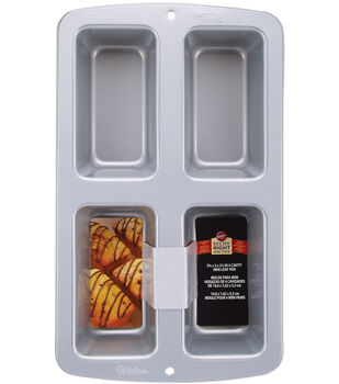 Wilton® 4 Cavity Mini Loaf Pan