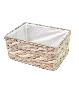 Organizing Essentials™ Rush Rectangle Basket Metal Frame