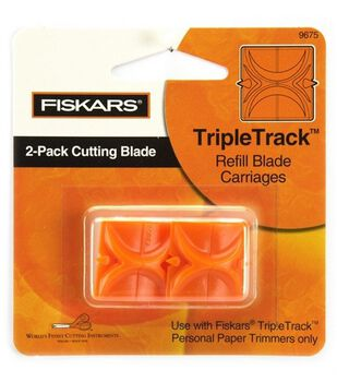 Fiskars Trimmer Replacement Blades-2PK/Straight