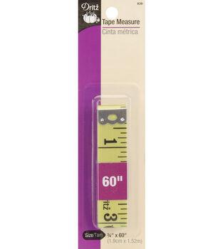 "Dritz Superwide Plastic Tape Measure-3/4"" x 60"""