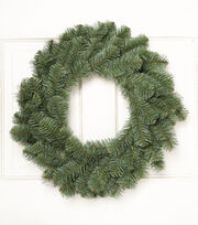 Blooming Holiday 24'' Douglas Fir Spruce Wreath, , hi-res