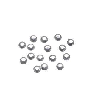 5mm Clear Crystal Stick-On Rhinestones