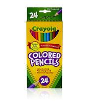 Crayola Colored Pencils-24PK/Long, , hi-res