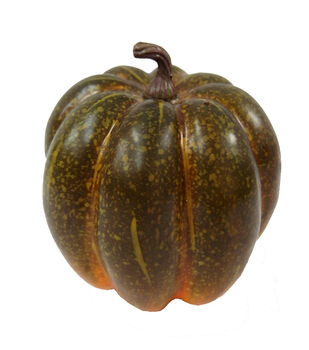 Blooming Autumn Small Natural Pumpkin-Green
