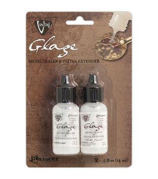 Vintaj Matte & Gloss Glaze Kit