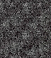 Keepsake Calico™  Cotton Fabric-Half Circle Tiles Gray, , hi-res