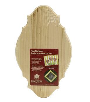 Walnut Hollow Pine Plaques-6''x10''x5/8''/French Porvincial