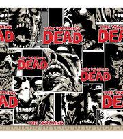 The Walking Dead Zombie Pack Fleece Fabric, , hi-res