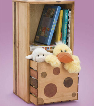 Dotty Crate with Drawer
