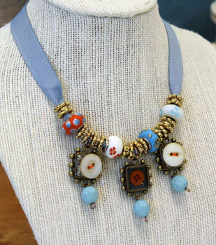 Beads, Buttons and Bezels. Oh My!