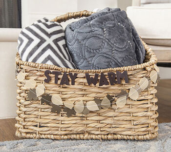 How To Make A Stay Warm Basket