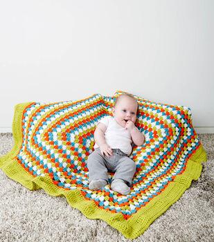 Big Border Baby Blanket