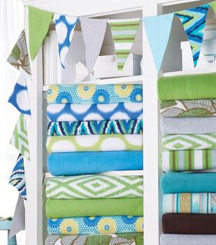 Makers- Fleece Fabric Pennant  Banner