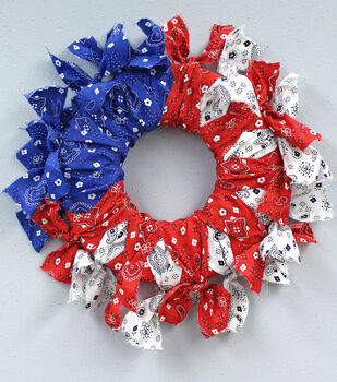 Bandana Flag Wreath