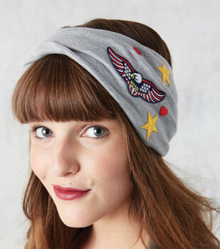 How To Make A Fabric Headband with Patches