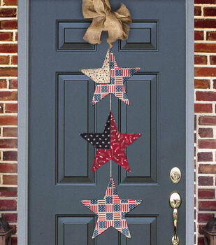 Creating New Traditions Patriotic Door Banner