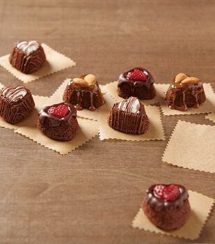 How To Make Deliciously Filled Heart Brownies