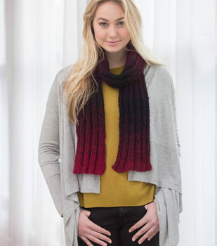 One Ball Knit Scarfie