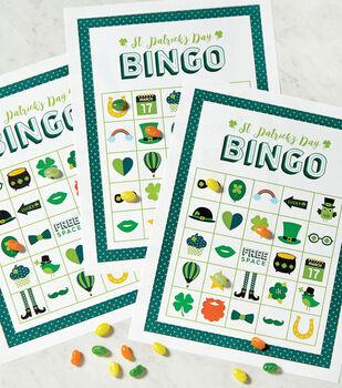 St. Patrick's Day Feeling Lucky Bingo Board Printable