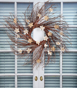 How To Make A Wispy Spring Wreath