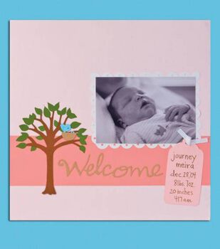 Baby's First Scrapbook Page
