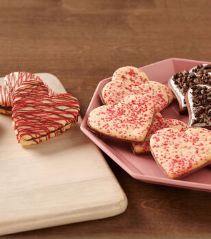 How To Make Various Valentine Cookies
