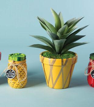 Teacher Fruit Plants and Jars