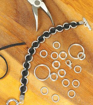 Black Suede Cord Bracelet