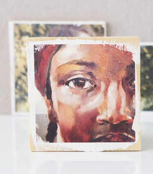 Creativebug-Color Image Transfers on Wood
