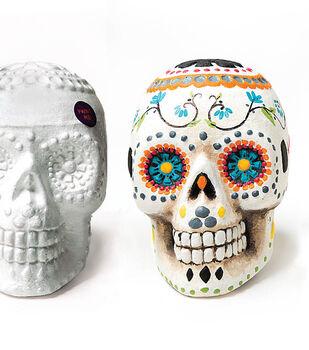 How To Make A Painted Styrofoam Sugar Skull
