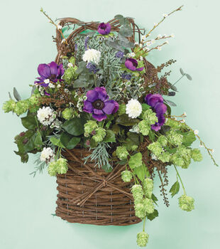 Herb and Berry Wall Basket
