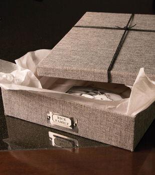 Personalized Storage Box Set