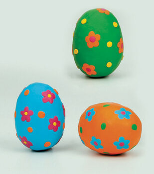 Flower Power Easter Eggs