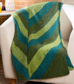How To Make A Simple Chevron Throw
